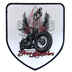 patch a coudre biker choppers